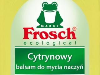 Ekologiczny płyn do zmywania naczyń.