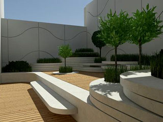 ogrody japońskie w willi Sowiniec