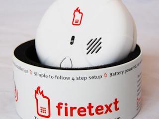 Pierwszy na świecie czujnik dymu Firetext zintegrowany z telefonem komórkowym już w Polsce.