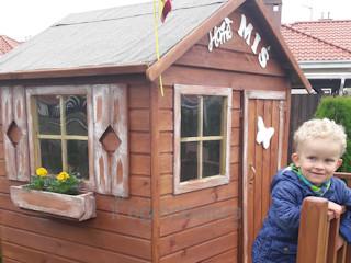 Gotowe domki dla dzieci do ogrodu.