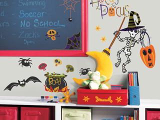 Dekoracje halloweenowe dla dzieci.