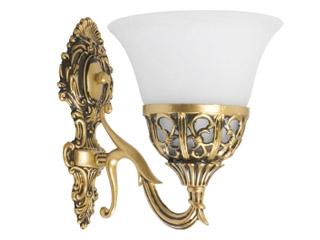 Firma Technolux stworzyla kolekcję złotych lamp Korynt