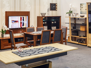 Najnowsza kolekcja mebli biurowych firmy Mebin - Maganda.