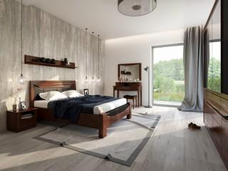 Pomysł na sypialniane wnętrze