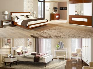 W białej sypialni
