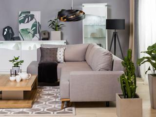 Efektywne wykorzystanie przestrzeni w małym salonie – zdecyduj się na narożnik!