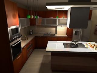 Przyjazna, funkcjonalna i modna kuchnia dzięki meblon kuchenny Rust.