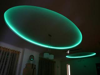 światło LED w dziecięcym pokoju