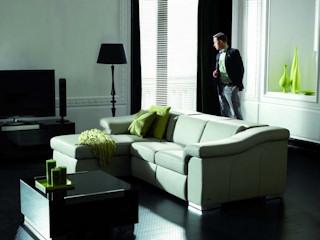Meble KLER BLUES W104 z systemem foteli i kanap