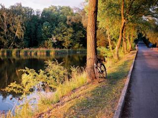 Wystawa zdjęć Jeziora Zegrzyńskiego na 50-lecie w Nieporęcie oraz Serocku.