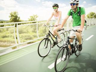Wiosenne wycieczki rowerowe.