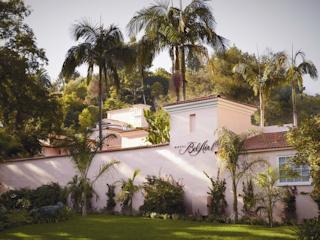 Relaks w hollywoodzkim stylu w Hotel Bel-Air.
