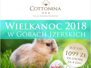 Cottonina Villa & Mineral SPA Resort w Świeradowie Zdroju zaprasza na Wielkanoc.