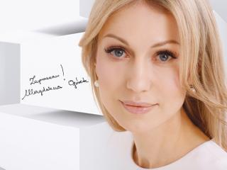 Magdalena Ogórek jako prowadząca serię programów ATLAS SZTUKI.