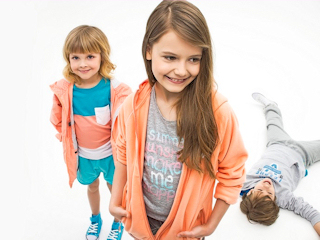 Kolekcja ubranek dla dzieci - Junior marki 4F.