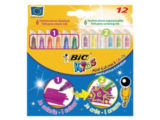 Kreatywne zestawy i produkty BIC: zima z nimi nie taka straszna!