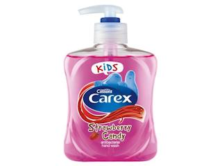 Antybakteryjne mydło w płynie dla dzieci Carex.