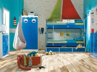 Nowy pomysł na podłogi w pokoju dziecięcym.
