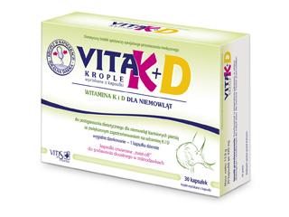 Zawartość witaminy K i D w mleku matki jest niewystarczająca.