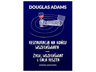 """Recenzja książki """"Restauracja na końcu wszechświata. Życie, wszechświat i cała reszta""""."""