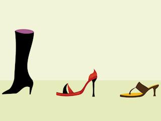Wygodne buty do tańca.