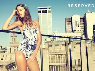 Mozaika pełna słońca-kolekcja kostiumów kąpielowych RESERVED