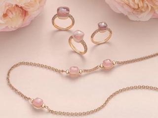 Najnowsza kolekcja Nudo Pink od marki Pomellato.