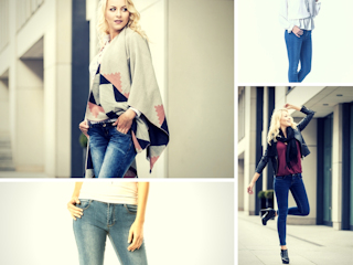Spodnie jeansowe biodrówki - jak je nosić, by być modną?