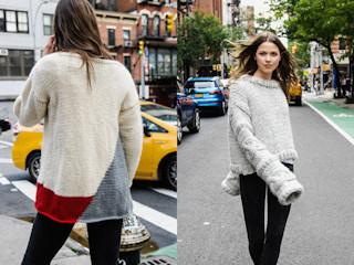 Jesienne trendy: otul się w nowojorskim stylu, samodzielnie wykonanym swetrem.