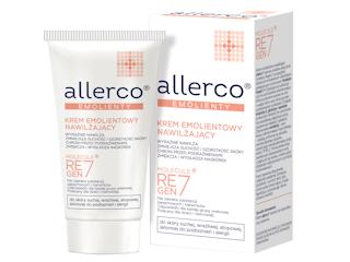 Krem emolientowy nawilżający allerco® do skóry suchej, wrażliwej, atopowej i skłonnej do podrażnień.