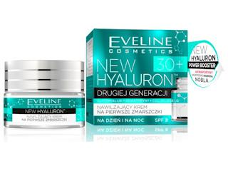 Nawilżający krem na pierwsze zmarszczki 30+ Eveline Cosmetics.