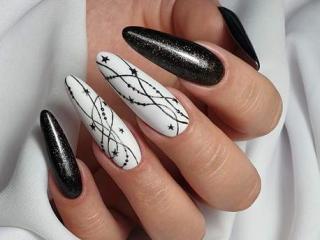 Stylizacje paznokci idealne na karnawał.