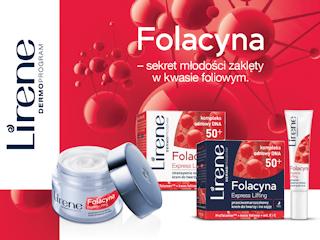 Sekret młodości zaklęty w kwasie foliowym w kosmetykach Lirene Folacyna.