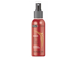Mgiełka chroniąca włosy przed działaniem wysokiej temperatur