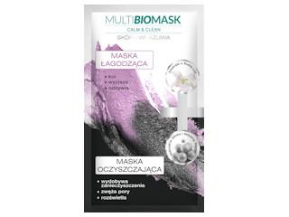 Calm & Clean maska łagodząca + maska oczyszczająca do twarzy.