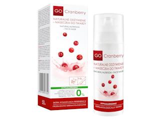 GoCranberry – Naturalne odżywienie – maseczka do twarzy