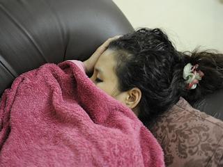 Pielęgnacja ciała podcza snu.