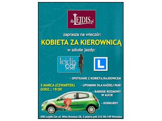 Spotkanie z dlaLejdis.pl w Szkole Jazdy Lejdiscar.