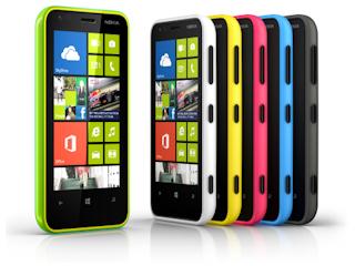 Nowy smartfon Nokia Lumia 620.