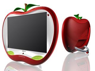 telewizory Hannspree w kształcie jabłka