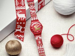 Swatch na prezent na święta.