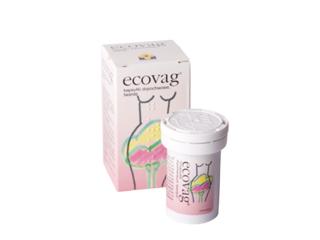 Kapsułki Ecovag przywracają odpowiedni odczyn środowiska pochwy.