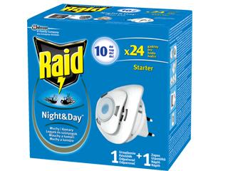 Preparaty Autan, OFF! i Raid przeciw komarom, meszkom i kleszczom.