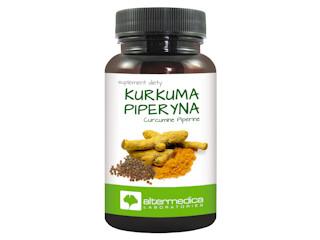Suplement diety Kurkuma Piperyna – pikantnie na trawienie.