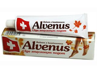 Balsam Alvenus z wyciągu kasztanowca dla kobiet w ciąży