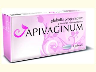 APIVAGINUM łagodzi zmiany i urazy błony śluzowej pochwy