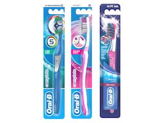 Poczuj najwyższą jakość higieny jamy ustnej z manualnymi szczoteczkami Oral-B.