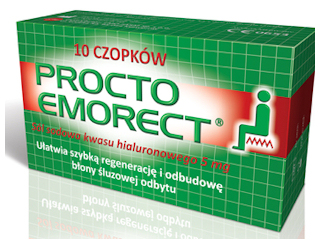 Procto emorect na hemoroidy.
