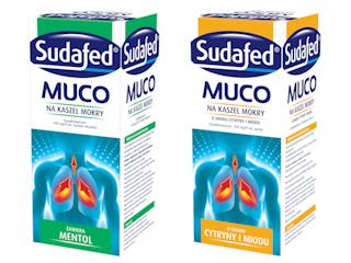 STOP dla mokrego kaszlu z SUDAFED® Muco.