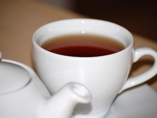 Biała herbata na zdrowie.